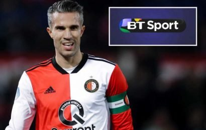 Man Utd and Arsenal legend Robin van Persie set to join BT Sport as pundit – The Sun