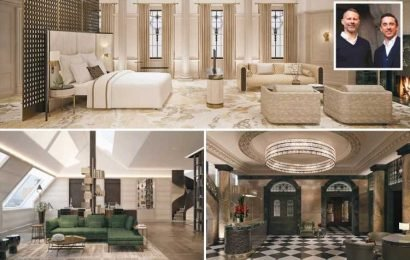 Inside Man Utd legends Ryan Giggs and Gary Neville's £750-a-night Stock Exchange Hotel with luxury penthouse, roof terrace and kitchen run by Tom Kerridge