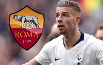Roma offer Man Utd target Alderweireld £3.14m-a-year deal as they close-in on Spurs star – The Sun