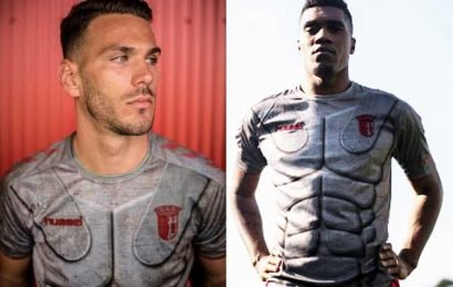 Braga release bizarre new armour third kit inspired by Ancient Rome soldiers