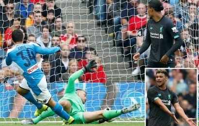 Insigne boots Liverpool into touch at Murrayfield as the Napoli striker hits opener and tees up two in 3-0 friendly win – The Sun