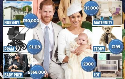 The huge amounts already spent on Meghan Markle and Prince Harry's baby Archie Harrison – The Sun