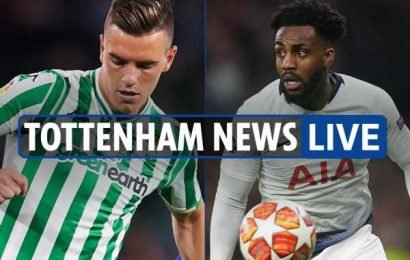 1.30pm Tottenham transfer news LIVE: Lo Celso and Sessegnon could move THIS WEEK, Rose to PSG, Bale WON'T go on loan – The Sun