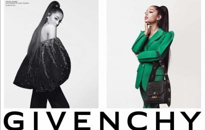 Ariana Grande Reveals New Givenchy Campaign and Says She's 'Honored' to 'Wear These Looks'