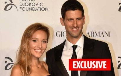 Novak Djokovic's marriage under scrutiny after wife Jelena failed to attend Wimbledon despite being in London – The Sun