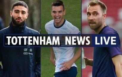 6.20pm Tottenham transfer news LIVE: Lo Celso replacement arrives at Betis, Eriksen offered to Atletico, Bale accepts China mega bid – The Sun