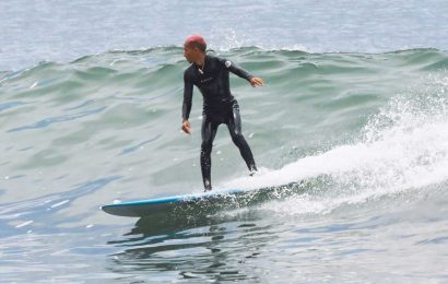 Hitting the Waves! Jaden Smith Spends His 21st Birthday Surfing in Malibu