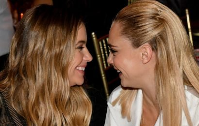 Ashley Benson And Cara Delevingne Have Each Other's Initials Tattooed And I Can't Stop Gushing Over Them