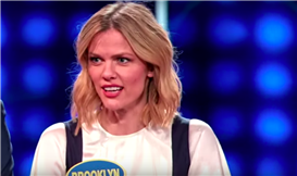 Brooklyn Decker Makes a Sex Joke While Playing Family Feud with Her Parents and Andy Roddick