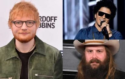 Ed Sheeran, Chris Stapleton & Bruno Mars Drop New Song 'BLOW' – Listen Here!