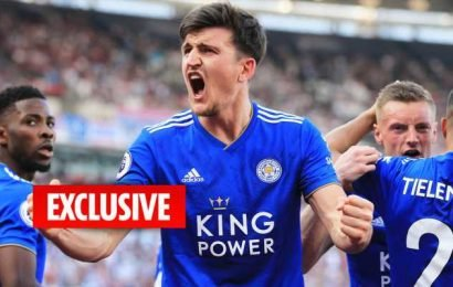 Arsenal make cheeky £50m transfer enquiry for Harry Maguire.. £35m short of Leicester's asking price