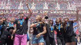 U.S Women's World Cup NYC Ticker Tape Parade Live Stream: Watch The Soccer Celebration Online