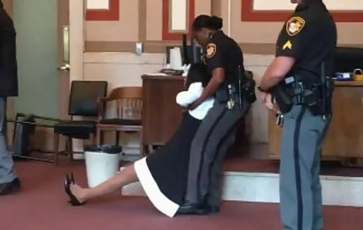 Former Democrat judge ordered to jail, dragged out of courtroom in Cincinnati