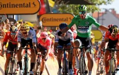 Peter Sagan Wins the Day Ahead of Tour de France's First Key Stage