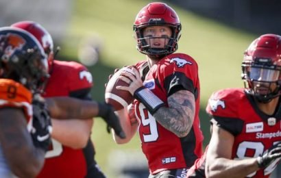 Calgary Stampeders hurting at key positions including quarterback