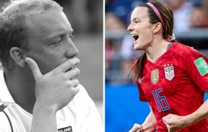Women's World Cup: The English coach who helped USA's Rose Lavelle 'fall in love with the game'