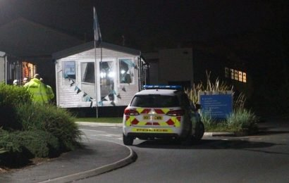 Caravan park evacuated after guest walks in with unexploded bomb
