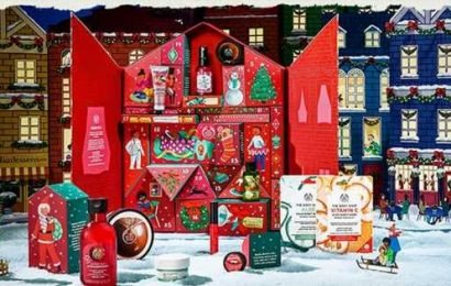 The Body Shop unveil Christmas beauty advent calendars for 2019