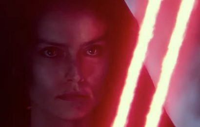 Star Wars 9 footage reveals 'evil Rey' in new D23 look at The Rise of Skywalker