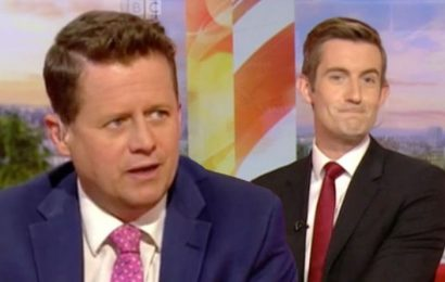 BBC News: 'Don't mind me' Mike Bushell snubs Ben Thompson before enormous announcement