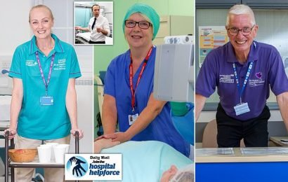 Now that's a helping hand! Meet Mail heroes transforming hospitals