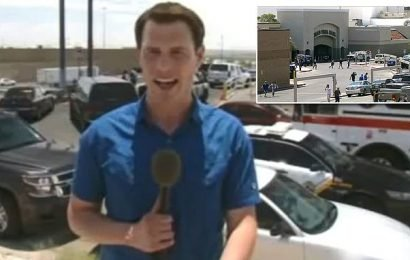 Fox News's Garrett Tenney breaks down over El Paso shooting
