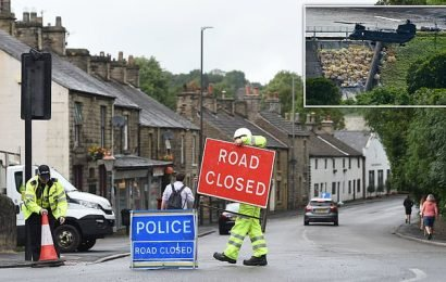 More than 1,500 Whaley Bridge residents are FINALLY allowed home