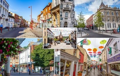 Forty nation's high streets compete to be named Best in Britain