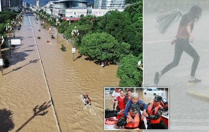 More than 30 people are killed and dozens missing after Typhoon Lekima