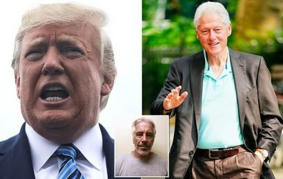 Trump cast doubt on Clinton's denial he visited 'pedophile island'