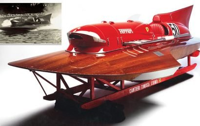 Only Ferrari BOAT in the world is set to fetch millions at auction