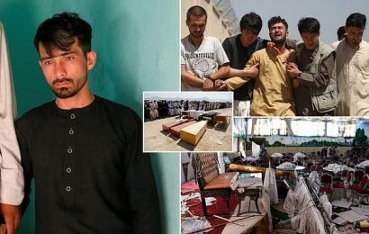Afghan groom will 'never see happiness again' after ISIS bomb attack