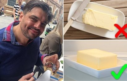 Top chef says you should NEVER leave butter out of the fridge