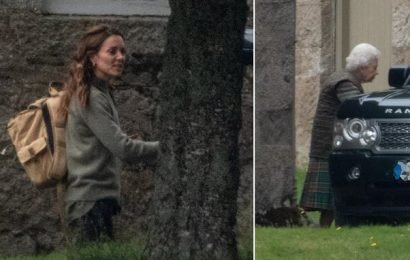Prince William, Kate Middleton and other royals join Queen at Balmoral