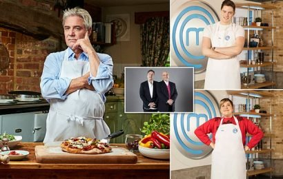 My painful grilling in this year's Celebrity MasterChef
