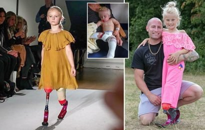 Eight-year-old double amputee to walk runway at New York Fashion Week