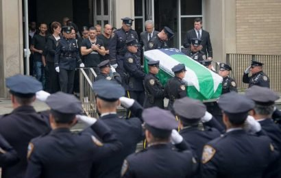 'Get to know each other': Captain's plea to cops at Johnny Rios' funeral