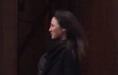 Is Katherine Keating the mystery brunette in the Epstein video?