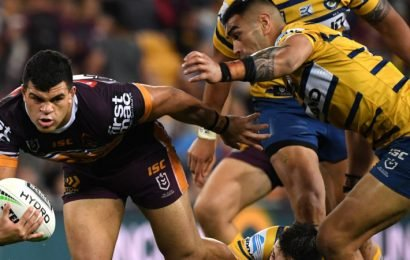 Fifita flattens Eels and leads Broncos to brink of finals