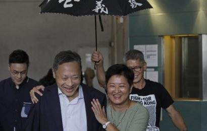 Key protest leader released as Hong Kong establishment calls for talks