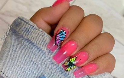The Celebrity Butterfly Nail Art Trend Is Making Our Hearts Flutter