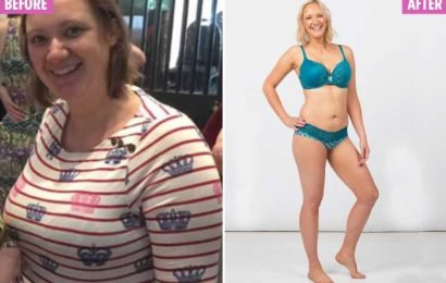 Mum's impressive 4st weight loss after switching to a diet of pizza and dessert