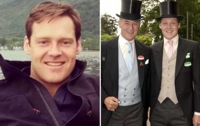 Ex-soldier, 38, becomes one of Britain's richest landowners after inheriting £100m following dad's death