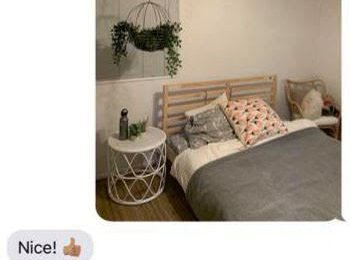 Teen sends her mum photos of her new bedroom – but forgets to remove the sexy handcuffs from her headboard