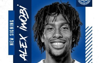Everton confirm £40m transfer of Alex Iwobi from Arsenal on five-year contract in deadline day shock – The Sun