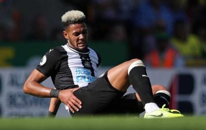Newcastle 'concerned' club record signing Joelinton is suffering a lack of confidence after just two games – The Sun