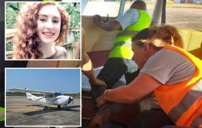 Alana Cutland was hanging out of Madagascar plane for TWO minutes at 3,500ft as pilot desperately tried to save Cambridge student – The Sun