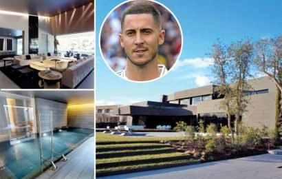 Ex-Chelsea star Hazard buys futuristic £10m Madrid mansion with pool and six bedrooms from Spanish singer – The Sun