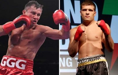 Gennadiy Golovkin to fight Sergiy Derevyanchenko for Canelo Alvarez's IBF belt after Mexican star was stripped of middleweight title – The Sun