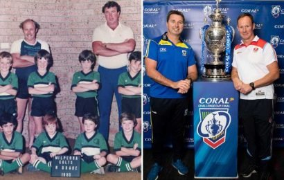 Challenge Cup final bosses Holbrook and Price were winners together aged 7 – The Sun